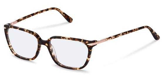 Claudia Schiffer by Rodenstock-Bril-C4013-black, gold