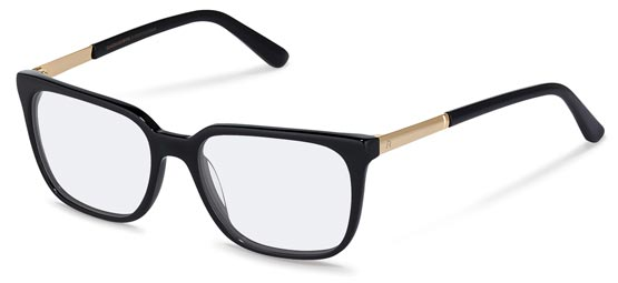 Claudia Schiffer by Rodenstock-Bril-C4015-black, gold