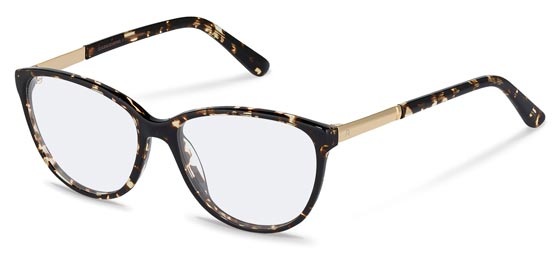 Claudia Schiffer by Rodenstock-Bril-C4016-havana, gold