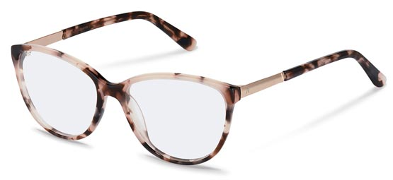 Claudia Schiffer by Rodenstock-Bril-C4016-rose havana, rose gold