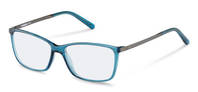 Rodenstock-Bril-R5314-blue transparent, dark gun