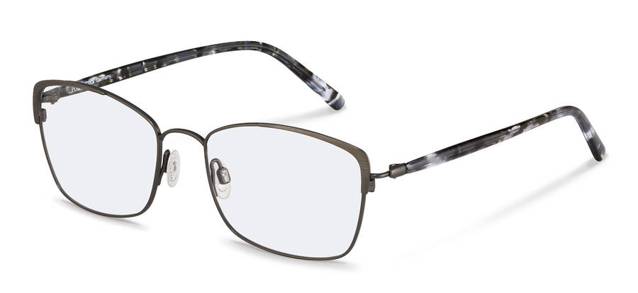 Rodenstock-Bril-R7087-gunmetal/blackstructured
