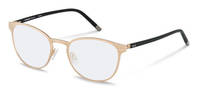 Rodenstock-Bril-R8023-rose gold, black