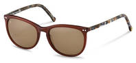 rocco by Rodenstock-Zonnebril-RR331-darkbrown/brownstructured