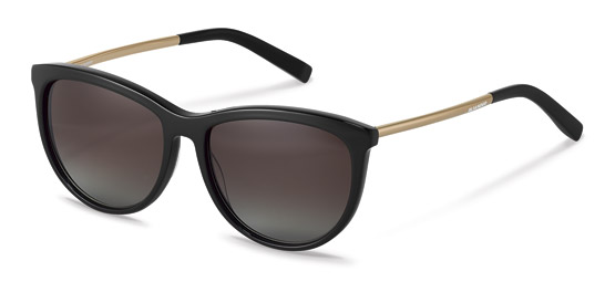 Jil Sander-Zonnebril-J3013-black, rose gold